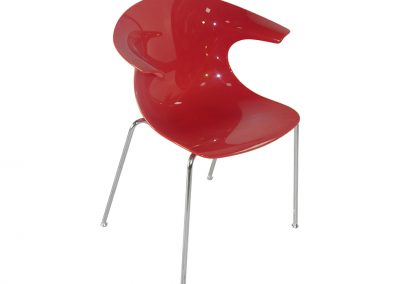 CHAISE LUGE ROUGE