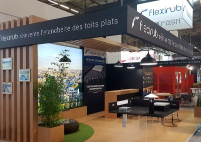 SOCIÉTÉ FLEXIRUB AU SALON BATIMAT