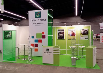 GROUPAMA ASSURANCES AU SALON TERRALIES À SAINT-BRIEUC