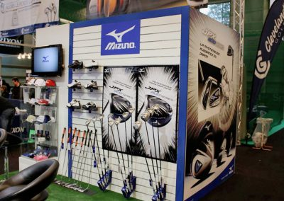 MIZUNO AU SALON DU GOLF À PARIS