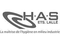 Concept Expo réalise des stands H.A.S., Etablissement Lallé, la maîtrise de l'hygiène en milieu industrie