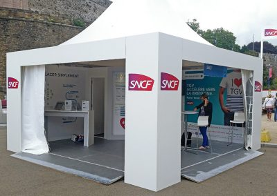 STAND SNCF À BREST 2016