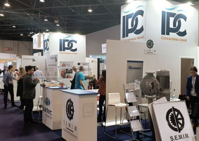 STAND PROFESSIONNEL, IPC Euromaritime, Marseille